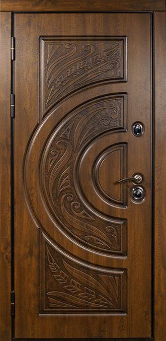 двери стальные входные метем